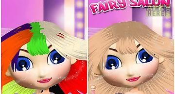 Fairy salon - girls games