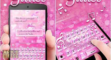 Glitter pro go keyboard theme