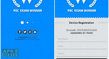 Psc civil engg. exam winner