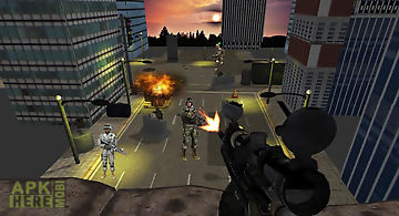 Real sniper city war 3d