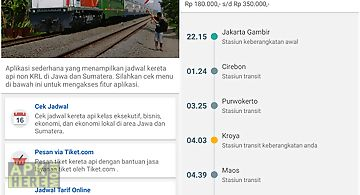Tiket kereta api tiket kai for android free download at apk here jadwalka kereta api indonesia stopboris Gallery