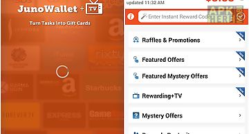 Junowallet earn gift cards now