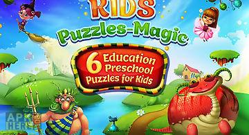 Kids puzzles - magic