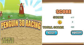 Penguin 3d racing