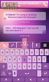 soft colors go keyboard theme