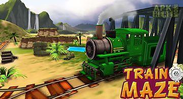 Train maze - rail 3d