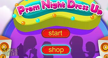 Dress up prom night-girls game