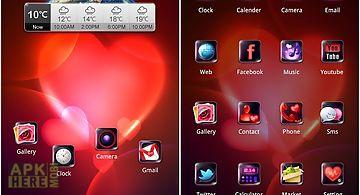 Next valentine sweet theme