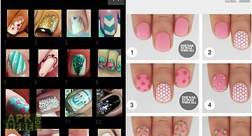 Nail design step by step