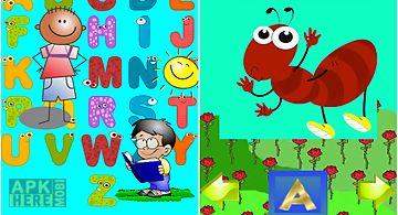 Alphabet in englishkids