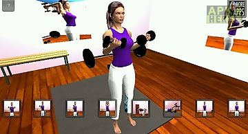 Arm 3d workout sets for girls