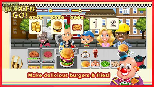 burger go - fun cooking game