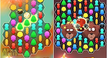Disco bees - new match 3 game