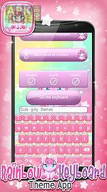 rainbow keyboard theme app