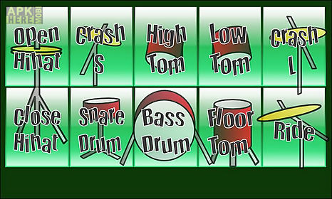 real drums