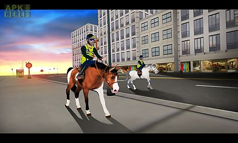 rodeo police horse simulator
