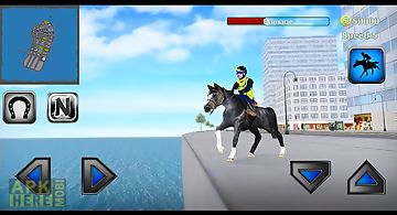 Rodeo police horse simulator