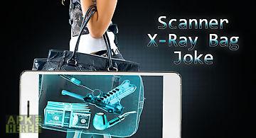 Scanner x-ray bag joke