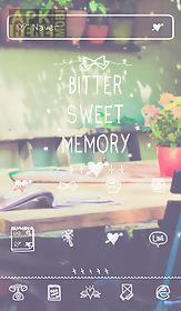 bittersweet memory dodol theme