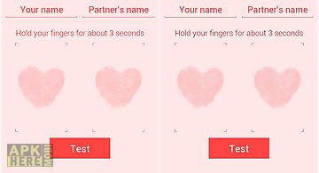 Fingerprint love test - prank