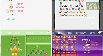 Fun art - emoji keyboard