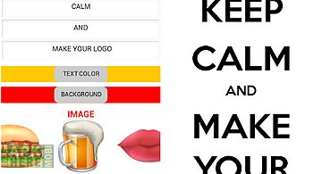 Keep calm wallpapers for Android free download at Apk Here
