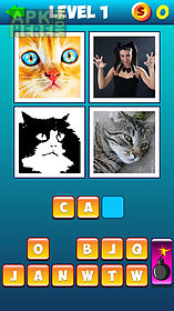 whats the word: 4 pics 1 word