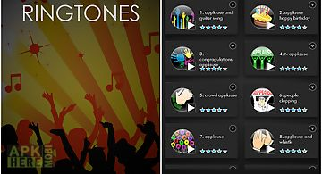 Applause sound ringtones