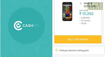 Cashify -sell old electronics