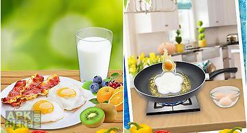 Make breakfast food!