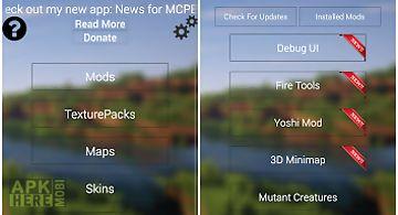 Mod locator for mcpe