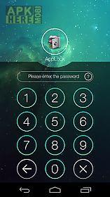 applock theme space