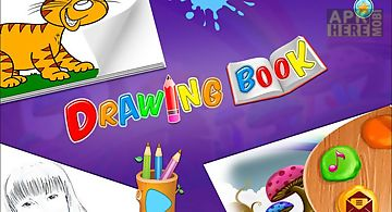 Kids color fly -drawing book