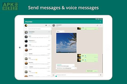 tablet for whatsapp