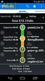 korea subway info : metroid