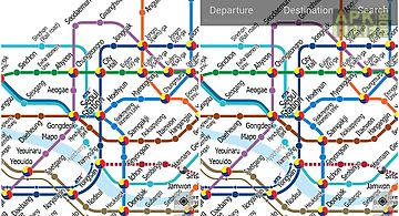 Korea subway information for Android free download at Apk