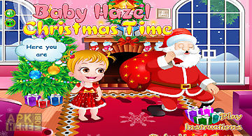 Baby hazel christmas time