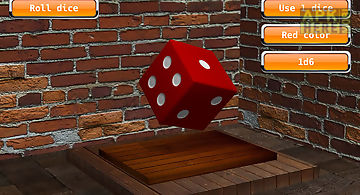 Board game dices 3d