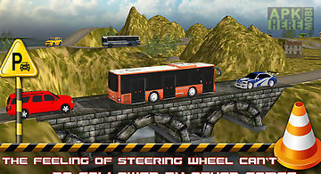 Hill climb bus parking