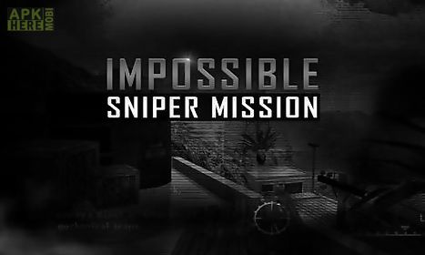 impossible sniper mission 3d