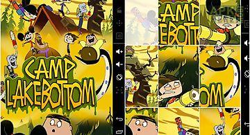 Kids puzzle camp lakebottom