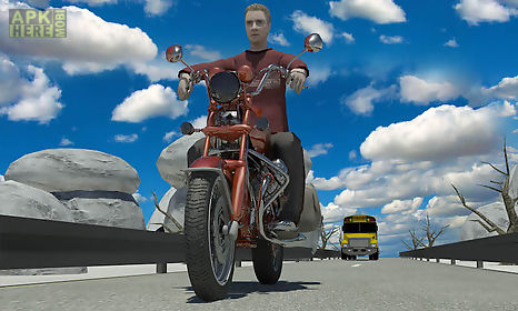 moto racer with traffic game