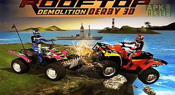 Rooftop demolition derby 3d