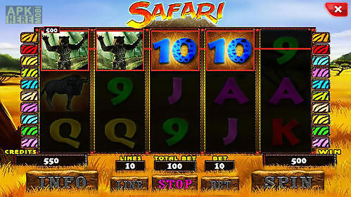 safari: slot