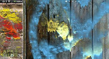 Dynamic paint free wallpaper