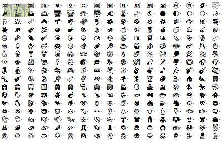emoji font for galaxy s3 & s2