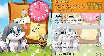 Schnuffel date, time wallpaper