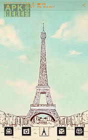 the paris atom theme (free)