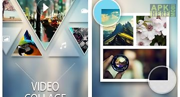 Video collage for instagram