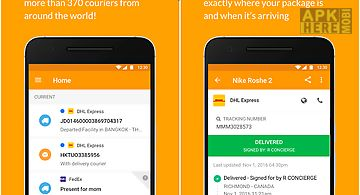 Aftership package tracker for Android free download at Apk